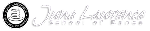 June Lawerence School of Dance Sticky Logo