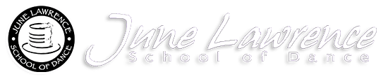 June Lawrence School of Dance Retina Logo